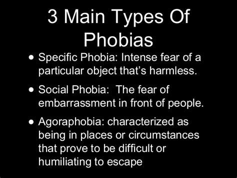 10 And Their Phobias by Phobia Presentation