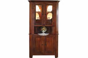Corner Hutch For Dining Room by American Oak Creations Gt Dining Room Gt Corner Hutches