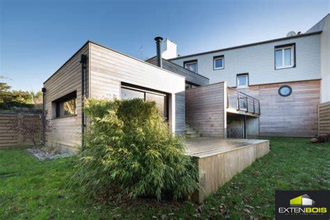 Modèle D Extension De Maison by L Extension Bois Contemporaine De Morgane Et S 233 Bastien 224