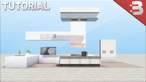 minecraft furniture kitchen minecraft modern kitchen tutorial