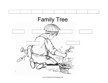 printable family tree black and white black and white family tree template