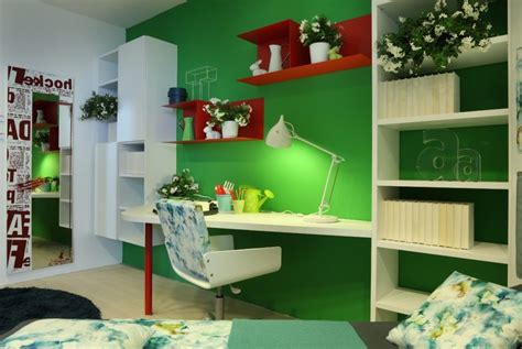 red green bedroom green red bedroom office interior design ideas
