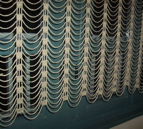 easy curtain patterns easy and modern crochet curtain 199 ok şık bir perde modeli