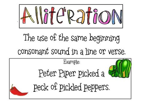 examples of alliteration alisen berde