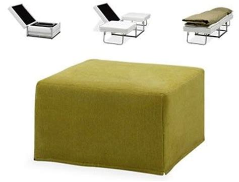 Ottomans That Turn Into Beds Transformer Furniture Ottoman Into A Bed Treehugger