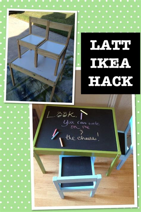 ikea hack how to use spray paint to spruce up a boring ikea hack latt children s table dissembled and cleaned