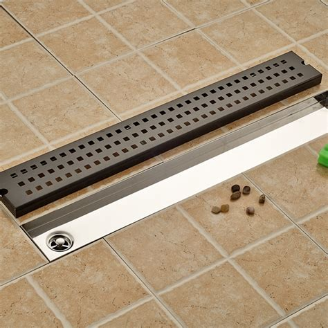bathroom floor drain grill shape black drainer floor drain square bathroom