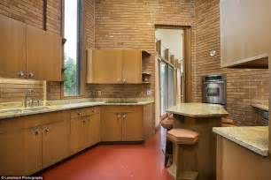 hexagon shaped kitchen table minnesota home built by frank lloyd wright is up for sale