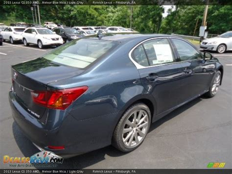 light gray lexus 2013 lexus gs 350 awd meteor blue mica light gray photo