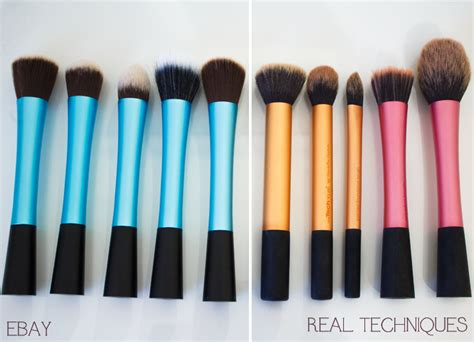 beauty review real techniques make up brushes the red style real techniques brushes dupes from ebay