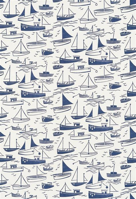 boat fabric 25 best ideas about nautical wallpaper on pinterest