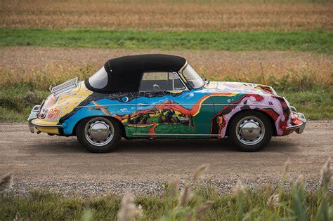 janis joplin porsche janis joplin s psychedelic porsche sold at auction for 163 1
