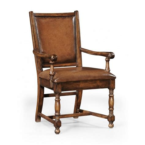 Jonathan Furniture by Jonathan Charles 493418 Country Farmhouse Walnut Country