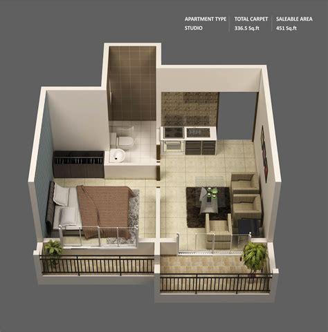 47 Planos de Apartamentos de 01 Dormitorio   Tikinti