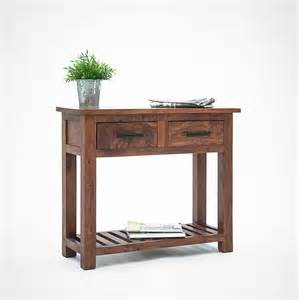 Small Console Table Sundara Solid Small Console Table Oak Furniture Solutions