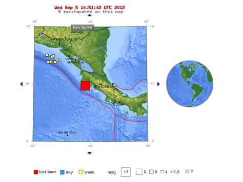 san jose earthquake map usgs 7 6 magnitude quake strikes of costa rica business