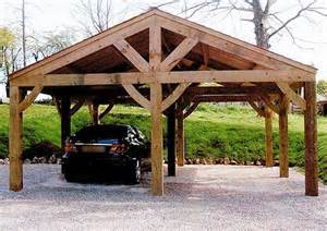 Open Carports by Garages Lumbertech International