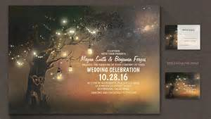 read more ? ARTISTIC WEDDING INVITATION WITH OLD TREE AND