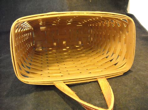 Handmade Baskets Ohio - handmade longaberger basket dresden ohio woven wood other