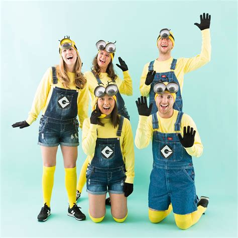 minion costumes   squad  halloween cute