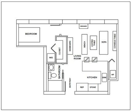 help design a 400 sq ft apartment the tiny life 400 square feet apartment design joy studio design