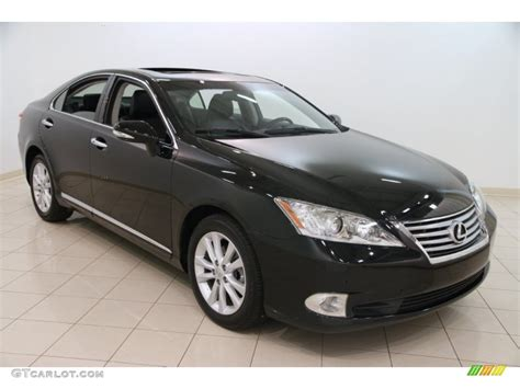 black lexus 2012 obsidian black 2012 lexus es 350 exterior photo 99475963