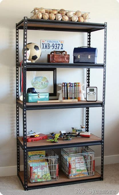 shelves for boys bedroom industrial shelf for boys room 320 sycamore bloglovin