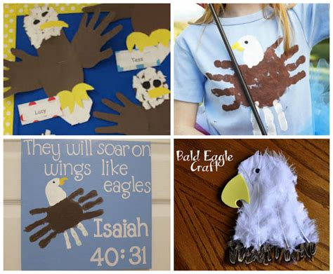 Bald Eagle Papercraft - american bald eagle crafts