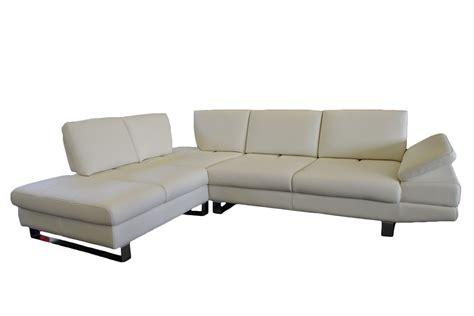 sofa mit einer armlehne name lexus leder ecksofa freizeit weiss leder schiebesitz
