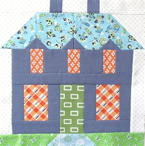 quilt pattern house free bee in my bonnet my home sweet home quilt block pattern
