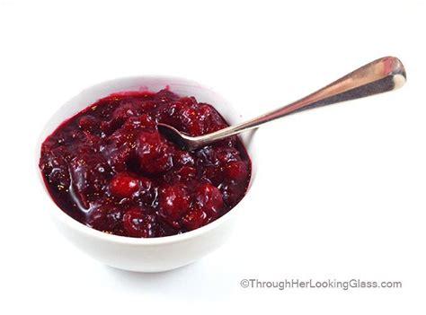 Sw Cranberry Sauce Whole Berri Cranberies fresh whole cranberry sauce through looking glass
