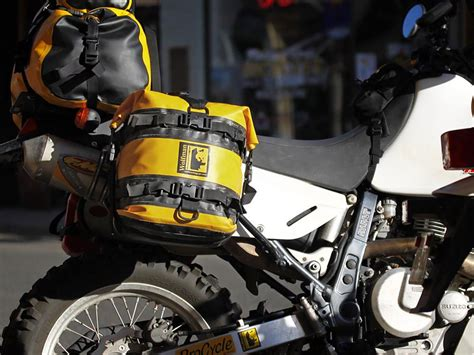 Expedition E6678m Green Yellow expedition saddle bags by wolfman motorcycle luggage