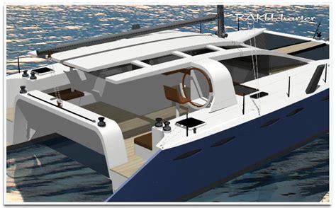 charter catamaran design grainger raku charter new catamaran design series boat