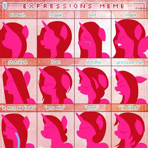 Meme Melody - melody expresion meme by melodysartist on deviantart