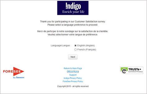 Indigo Gift Card Number - www indigofeedback com indigo customer satisfaction survey
