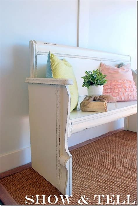 Diy Footboard by Diy Bench From Headboard And Footboard Bench