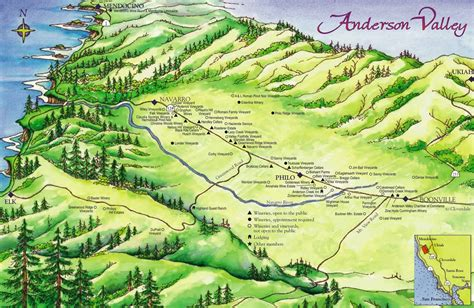 map of valley schiller wine the sparkling wines of valley in