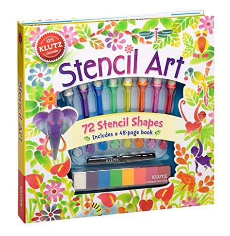 Klutz Stencil Book Kit by Klutz Stencil Book Kit Crafts For