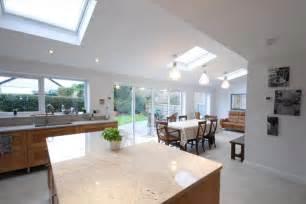 single storey rear family room extension building