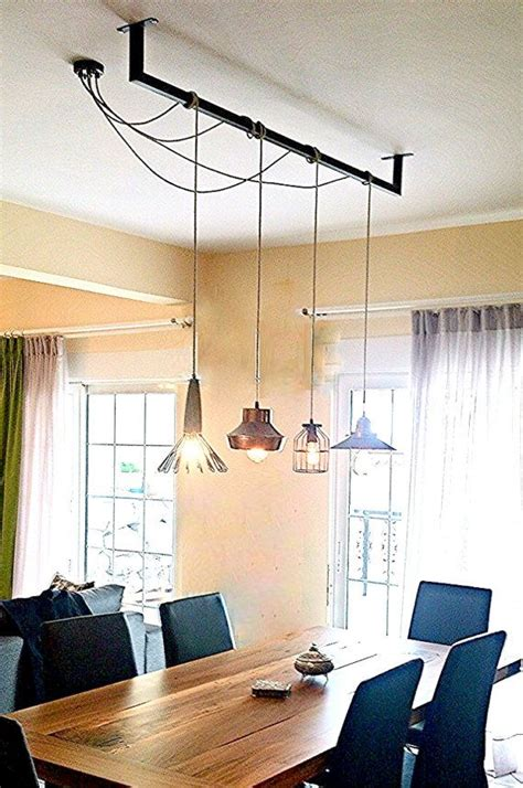 Diy Dining Room Lighting Ideas 25 Best Ideas About Dining Table Lighting On Pinterest Dining Room Light Fixtures Dining