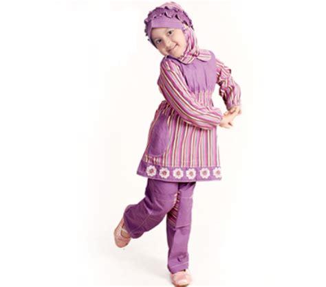 Baju Anak Perempuan Warna Ungu Model Baju Muslim Anak Perempuan Terbaru 2016 Modern