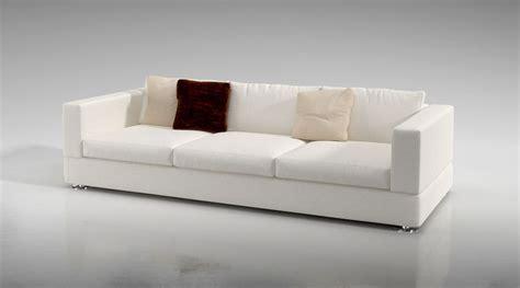 Long White Modern Sofa 3d Model Cgtrader Com