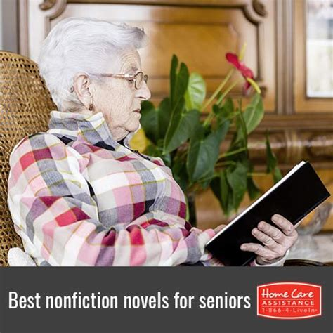 seniors and elders embrace books great nonfiction books for elderly readers