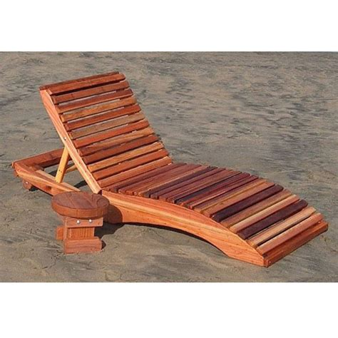 Wood Chaise Lounge Redwood Outdoor S Single Chaise Lounge Chair Wooden Lounger Benches Chairs Seats