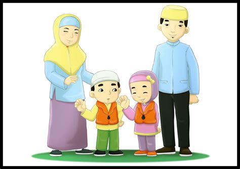 wallpaper animasi islami gambar kartun keluarga muslim auto design tech