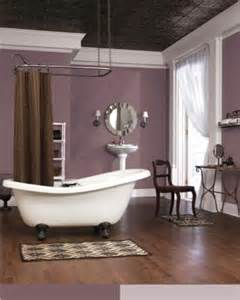 plum colored bathrooms patchwork plum sw 0022 sherwin williams pinterest