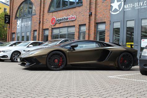 Gold Aventador Sv by Lamborghini Aventador Sv In Bond Gold Nato Oliv