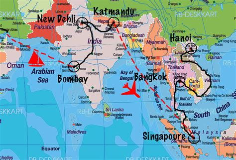 asie du sud est google map voyages cartes
