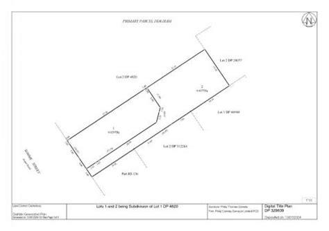 cadastral survey plan title sheet land information new
