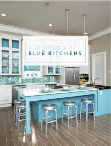 White And Blue Kitchen Cabinets inspired by blue kitchens amp tile interior design cabinets